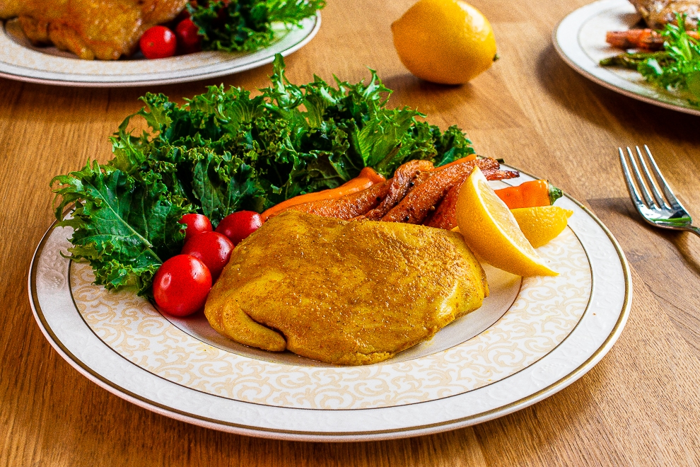 咖哩風味雞胸肉|美味舒肥料理