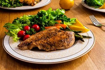 黑胡椒風味雞胸肉|低脂高蛋白|舒肥全熟
