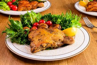 托斯卡尼風味去骨雞腿排 生醃食材