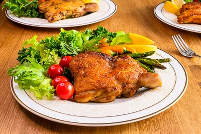 鐵板燒風味去骨雞腿排|生醃食材