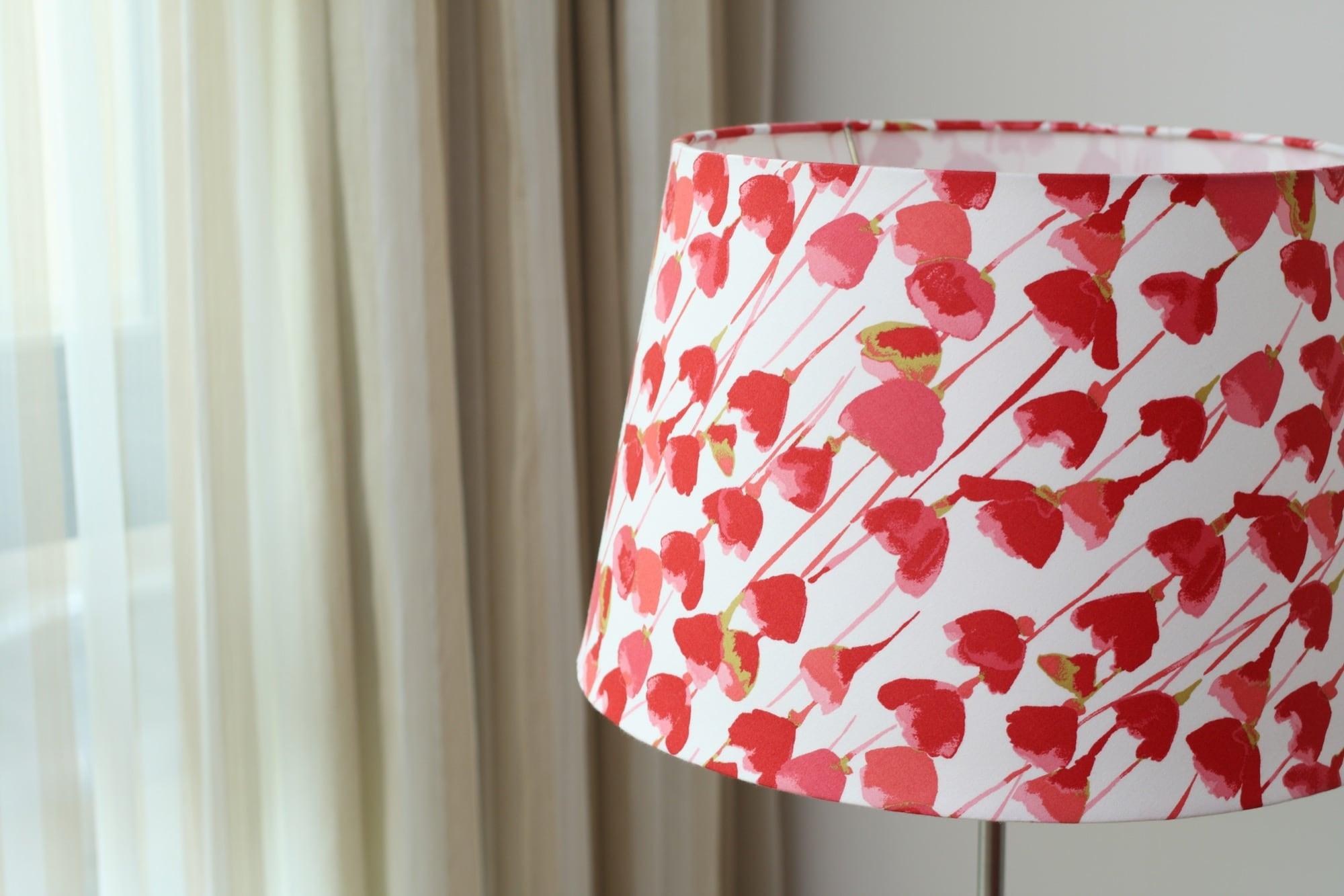 英國Romo布|鬱金香花紋|布藝燈罩