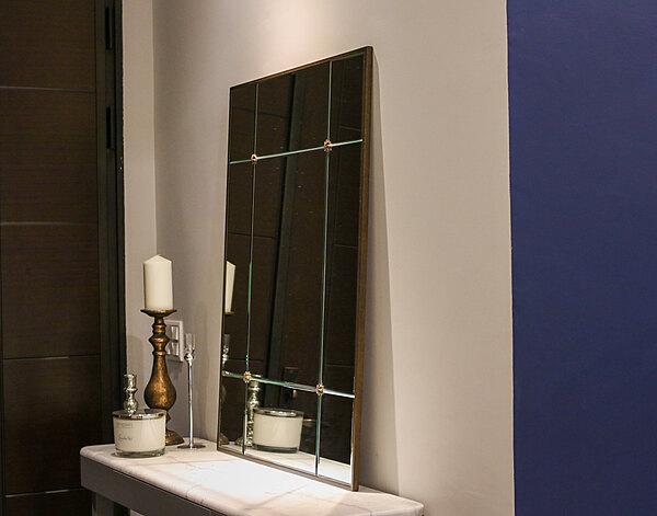 巴黎雅緻藝術鏡|玄關鏡|金屬鏡框鏡