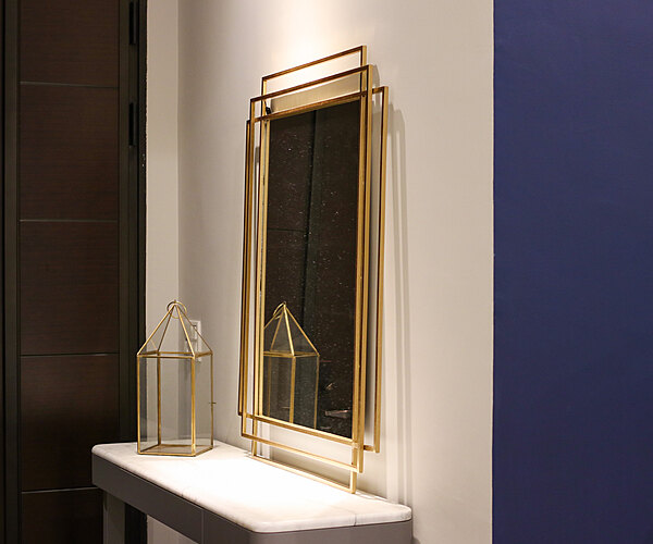 古典風華藝術鏡|玄關鏡|金屬鏡框鏡