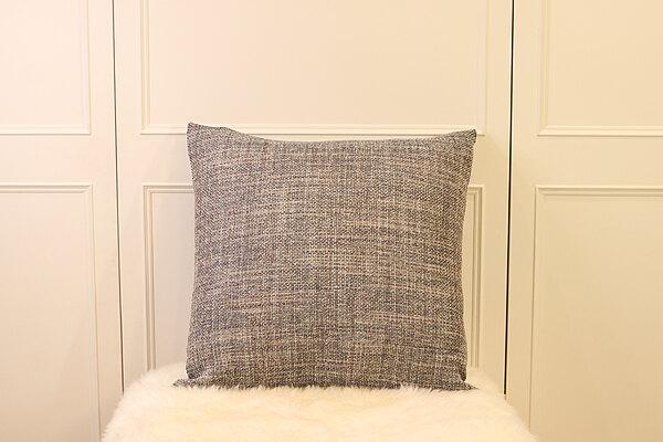 典雅藍灰色雙拼大抱枕 | 靠枕|60 x 60